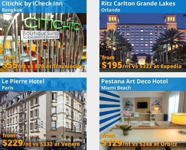 Gutschein Codes für Hotel Buchungen bei Travelpony für Bangkok