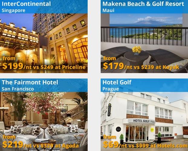Gutschein Codes für Hotel Buchungen bei Travelpony für Singapur